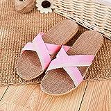 CCFF Mujer Verano Zapatillas de Ducha, Zapatillas de casa de Pareja de Verano, Sandalias de salón Antideslizantes-Gris pálido Rosado_44-45, Zapatos Impermeables para la Ducha Zapatillas,