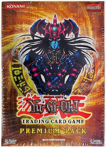 Yugioh Card Game - 2007 Premium Pack Booster Box - 20 packs / 5 Cards