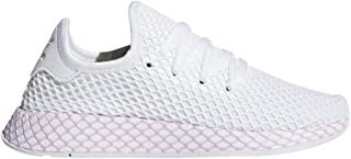 Originals Deerupt Runner Shoe Womens Casual 6 White-Clear Lilac