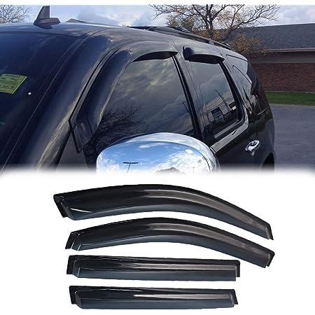 Vent Shade Outside Mount Window Visor Sunroof 5pc Combo Cadillac Escalade 07-14