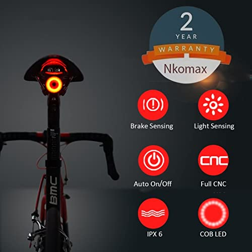 Bicycle Light Reviews >> Bike Smart Light Amazon Com
