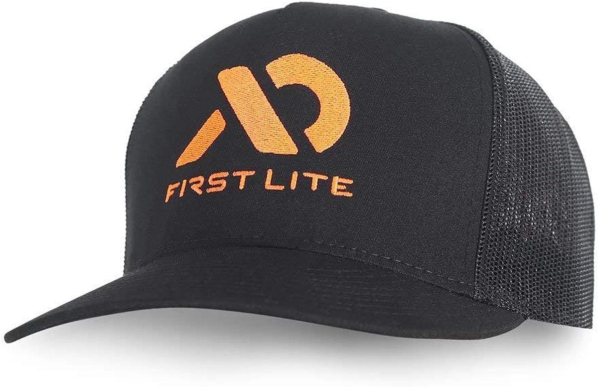 First Lite Black Logo Trucker