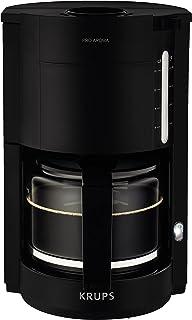 Krups F30908 ręczny ekspres do kawy, wolnostojący, ekspres do espresso, mielona kawa, 1,25 l, czarny
