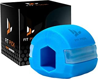 FIT PICK Pro Jawline Exerciser, Double Chin Reducer for Women & Men, Face Shaper jaw exerciser, Jawline Shaper Tone Your N...