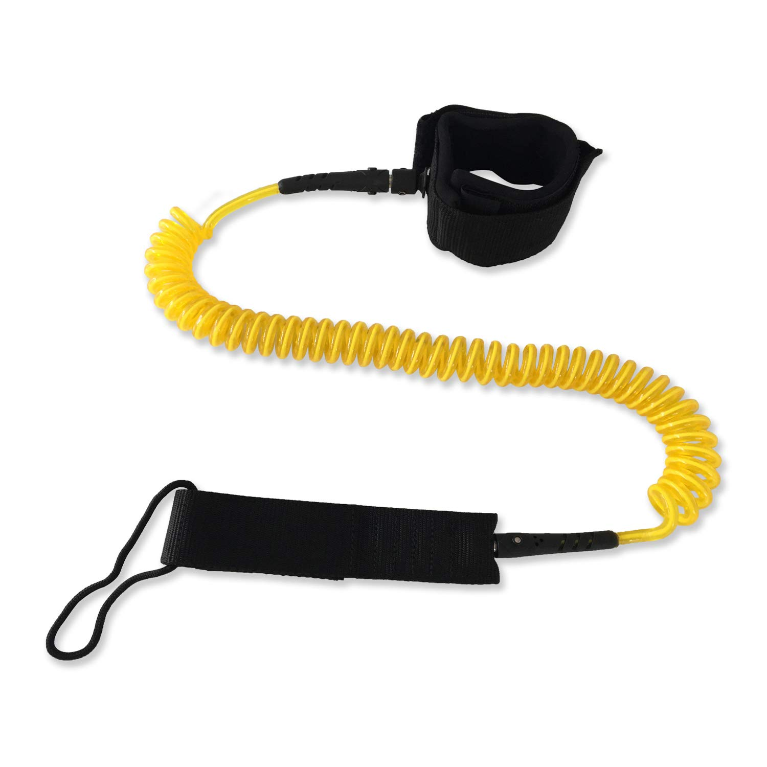 High Elastic Leash for Surfing Surfboard Standup Paddle Board Leg Rope Strap
