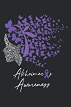 Alzheimer S Awareness Alzheimers Purple Butterflies: Plan Your Day In Seconds: Notebook Planner, Daily Planner Journal, To...