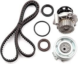 OCPTY Timing Belt Kit Including Timing Belt Water Pump with Gasket tensioner Bearing etc, Compatible for 98 99 00 01 02 03 04 05 Volkswagen Beetle/98 99 00 01 02 03 04 05 Volkswagen Golf
