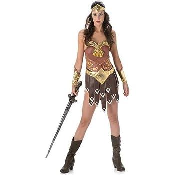 Partychimp 81082 - Disfraz de Gladiador para niña (Talla M ...