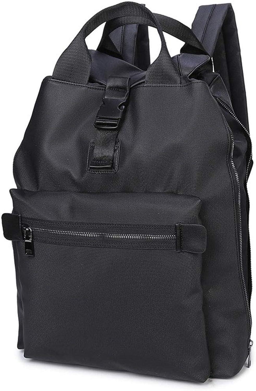 MZTYX De Lssig Mnner Rucksack, Mode Outdoor Reise Rucksack Persnlichkeit Handtasche Multifunktions Business Bag
