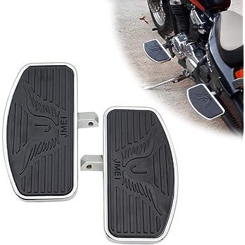 Motorcycle Floorboard Front//Rear passenger foot pegs for Honda Magna VF250//VT250//VF750 1994-2013 Yamaha V-STAR DragStar XVS 650 Virago XV125//250//400 Pair