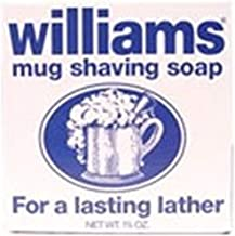 Williams Mug Shaving Soap, 6 Count