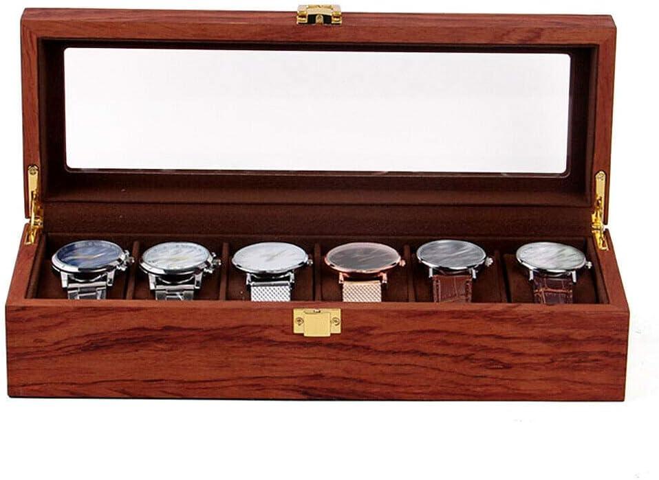 Selling DNYSYSJ Watch Case Wooden Box Display Ranking TOP17 Organizer Jew