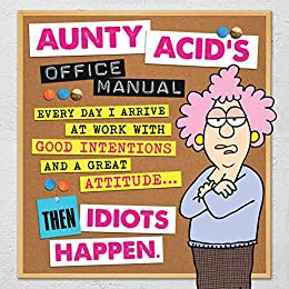 Aunty Acid's Office Manual by [Ged Backland]