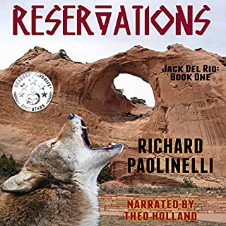 Reservations audiobook cover art