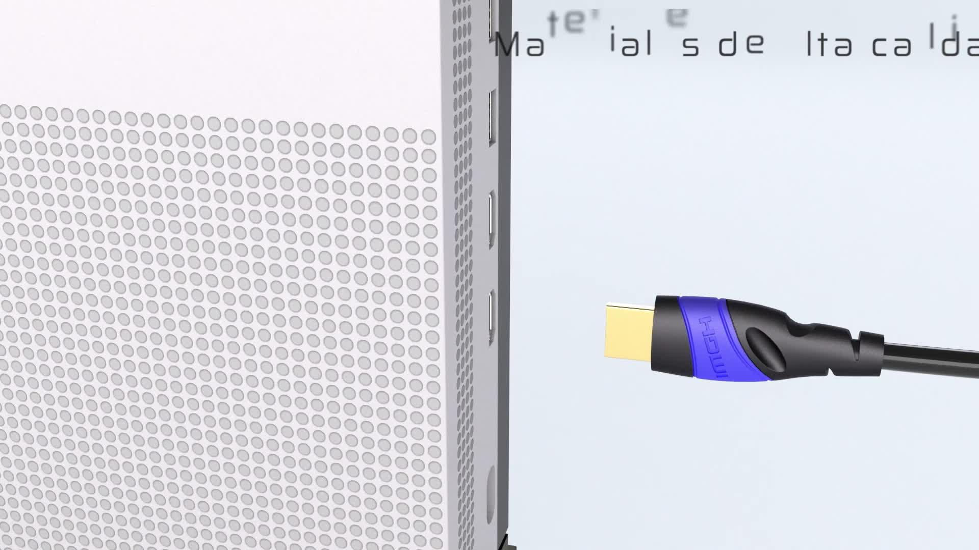 KabelDirekt – 2m – Cable HDMI 4K (4K@120Hz/4K@60Hz para una Espectacular Experiencia Ultra HD – High Speed con Ethernet, Compatible con 2.0/1.4, ...