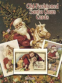 Old-Fashioned Santa Claus Cards  24 Cards  Dover Postcards