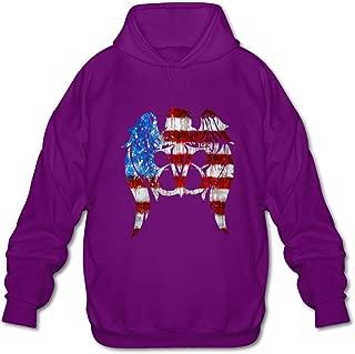 DASY Men's O-neck Black Veil Brides Sweatshirt Hoodie Purple Medium