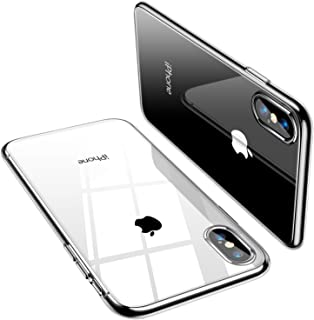 TORRAS iPhone Xs Case/iPhone X Case, Ultra Thin Slim Fit Soft Silicone TPU Cover Case Compatible with iPhone X/iPhone Xs 5.8 inch, Clear