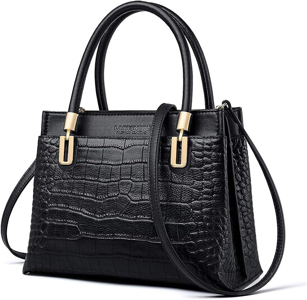 Regular store LAORENTOU Genuine specialty shop Leather Handbags for Purses Women Top-handle