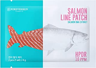 Smile Line Face Patch - 5 sets of Essence Pads with Salmon Extract Wrinkle Care Skin Elasticity Tightening Moisturizing