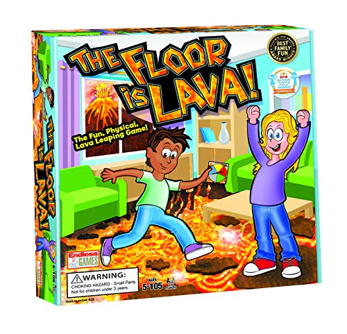 The Floor is Lava - Interactive Game for Kids and Adults - Promotes Physical Activity - Indoor and...