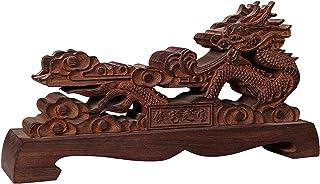 1pc Chinese Dragon Shaped Wooden Sword Holder Table Stand,Sword Stand,Small Japanese Ninja Samurai Katana Master Sword Kni...
