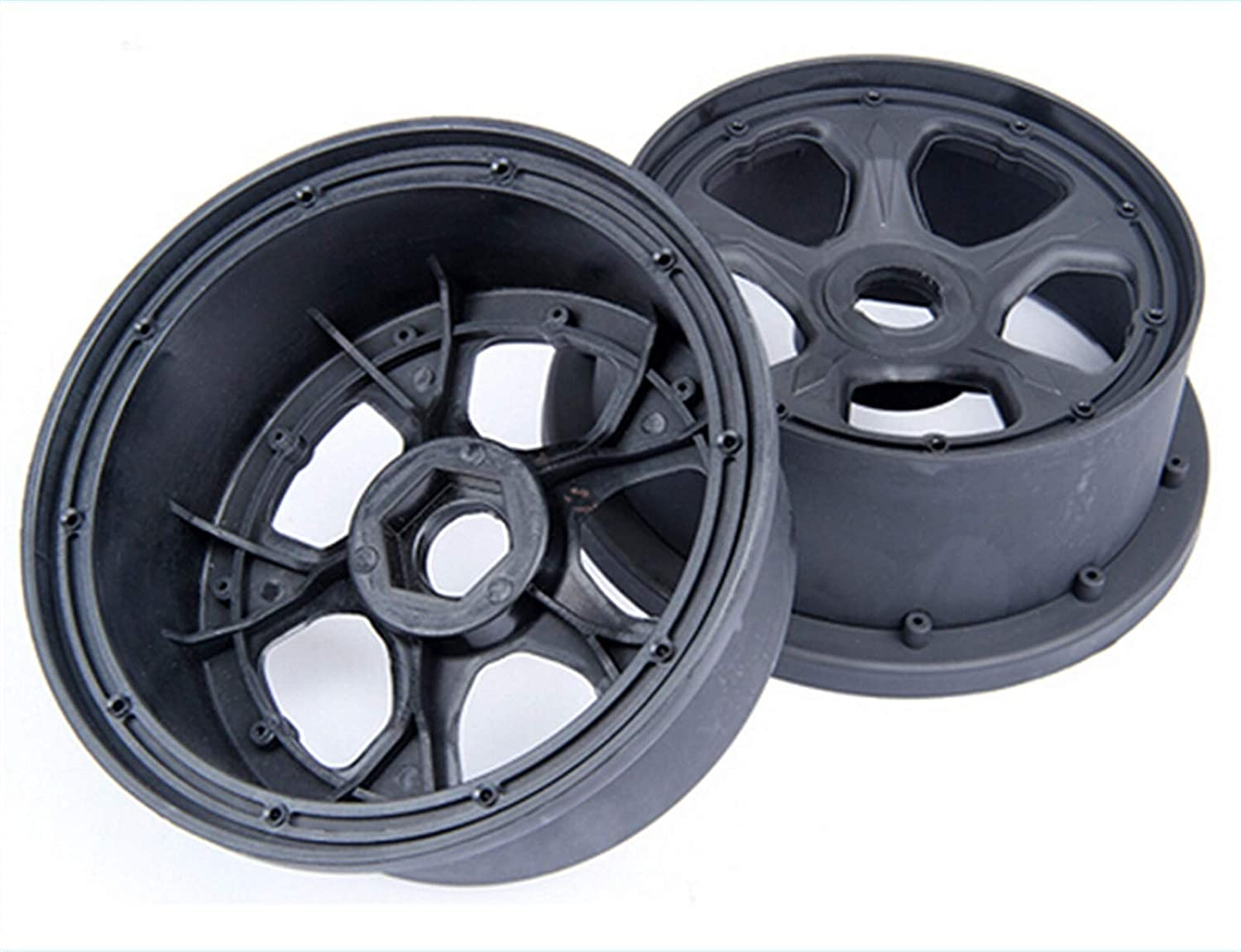 HUANRUOBAIHUO 1 Max 81% Outlet ☆ Free Shipping OFF 5 rc car Gas Wheel fit Set Racing Five-Spoke hub