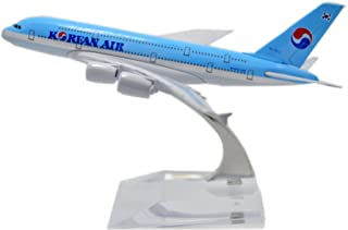 TANG DYNASTY 1/400 16cm 大韓航空 Korean Air エアバス A380 高品質合金飛行機プレーン模型 おもちゃ