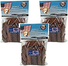 product image for Wholesome Hide 3 Pack of Chunkees Dog Chews, 8 Ounces each, Crunchy Ground Rawhide Treats with Glucosamine and Chondroitin for Joint Health