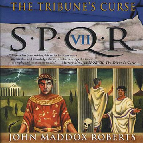 SPQR VII: The Tribune's Curse audiobook cover art