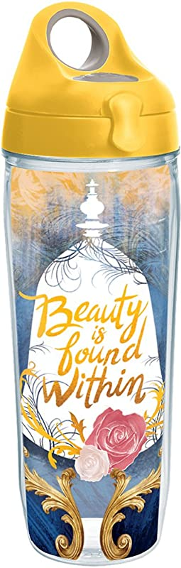 Tervis 1245023 Beast Beauty Is Found Within Tumbler With Wrap 24 Oz Clear