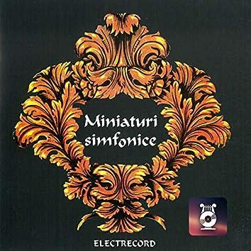 Symphonic miniatures