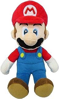 Super Mario AGMSM6P-01M - officieel gelicentieerd Nintendo pluche figuur, 20 cm, rood