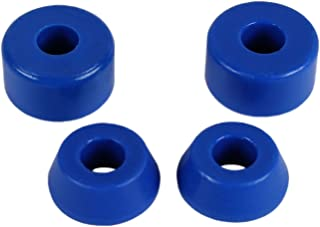 Skateboard Longboard Truck Replacement Bushings 4-Pack (for 2 Trucks) - Many Colors and Durometers