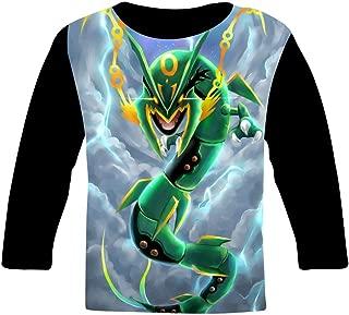 Ray-Qua-Za Clouds Kids T-Shirts Long Sleeve Tees Fashion Tops for Boys/Girls