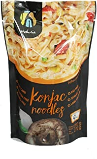 Hethstia Shirataki Konjac Noodle- Fettuccine Pasta Alternative, Zero Carbs/Calories, Gluten/Soy Free, Keto/Vegan Friendly (9)
