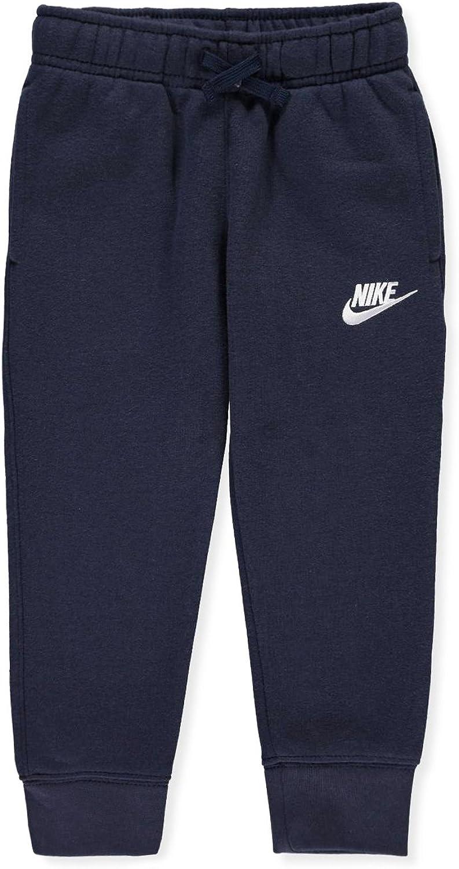 Nike Little Boys Fleece Jogger Pants (Sizes 47) -Obsidian, 6