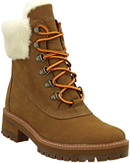 حذاء كورمايو فالي للسيدات من تمبرلاند WP 15.24 سم مع فرو