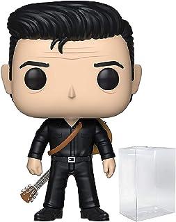 Funko Pop! Rocks: Johnny Cash - Johnny Cash in Black Funko Pop! Vinyl Figure (Includes Compatible Pop Box Protector Case)