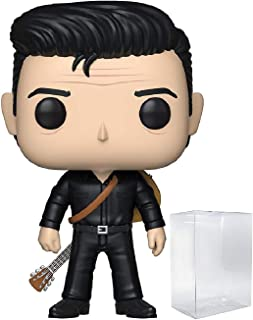 Funko Pop! Rocks: Johnny Cash - Johnny Cash in Black Pop! Vinyl Figure (Includes Compatible Pop Box Protector Case)