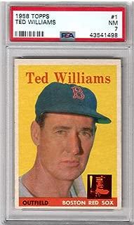 1958 topps baseball psa