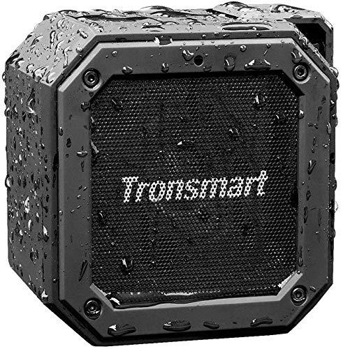 Tronsmart Groove Enceintes Portable Bluetooth 12W, Haut Parleur Bluetooth 5.0, Waterproof avec Autonomie de 24 Heures, étanchéité IPX7, Audio HD, Port Micro SD, AUX, Micro et Basses Renforcées