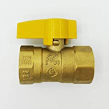 Cambridge Gas Connector Shut Off Valve 3/4 Inch FIP x 3/4 Inch FIP