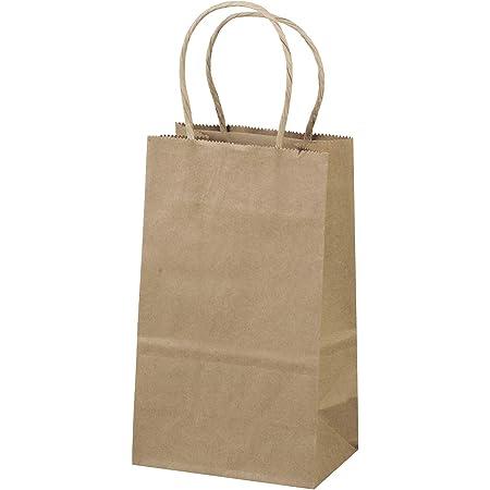 25 paper bags brown flat bag M Gift bags