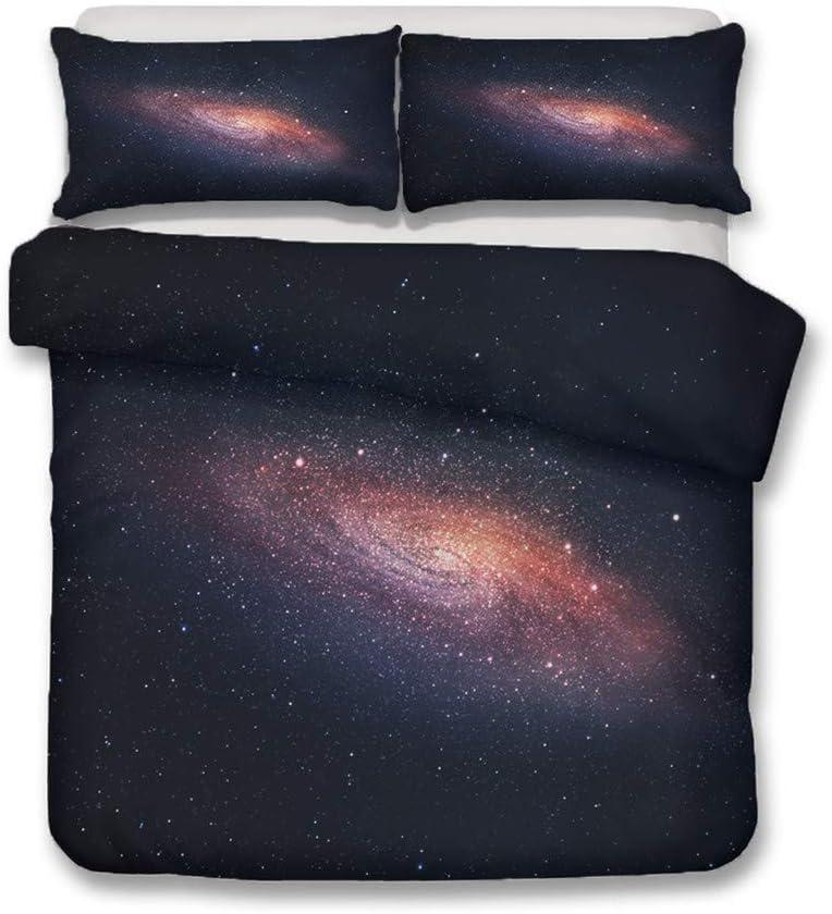 LanS Super intense SALE Constellation Galaxy Direct store Sky Series Bedding Cover 3D Duvet Set
