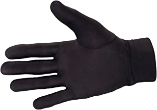 100% Pure Silk Thermal Liner Gloves Inner for Bikers, Skiers, Dog Walkers, Cyclists, Fishermen, Gardeners and all Outdoor Activities.