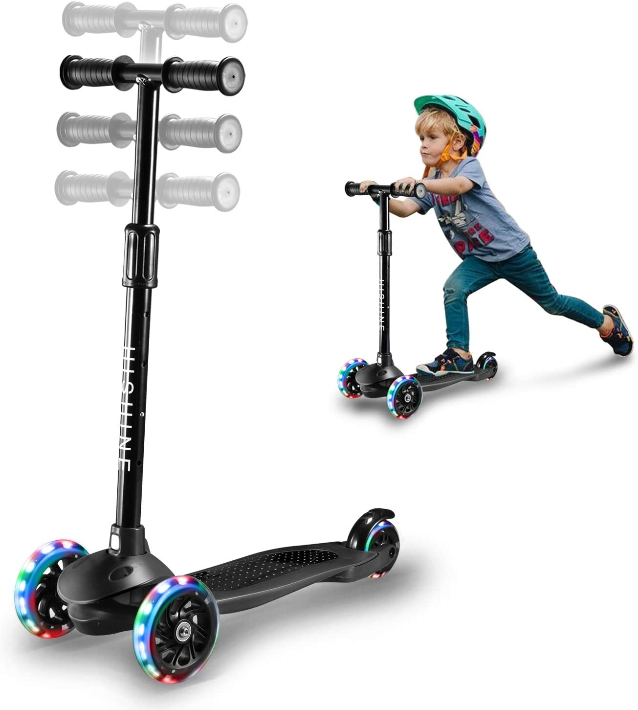 Toddler Scooter Max 87% OFF for Kids Ages Ranking TOP7 Wheels 2-5 Three Kick wit