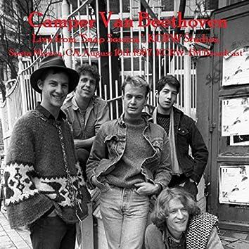 "Live from ""Snap Session"", KCRW Studios, Santa Monica, CA. August 10th 1987, KCRW-FM Broadcast"