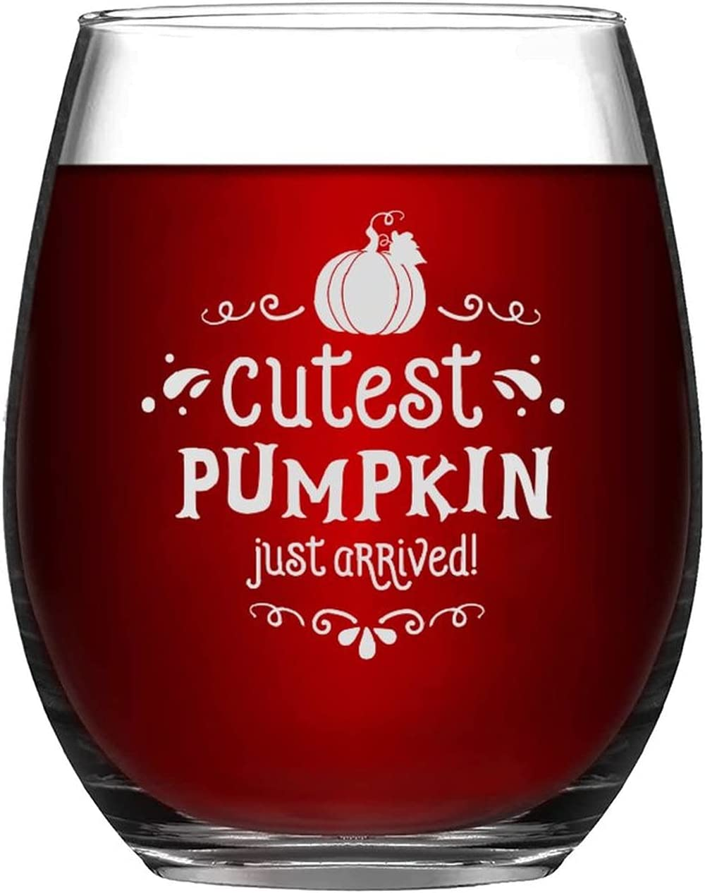 Ranking TOP15 Stemless Wine Glass Cutest Pumpkin Just Chicago Mall Au Glasses Arrived Happy