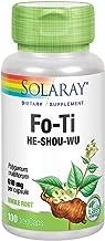 Solaray Fo-Ti 610 mg   Healthy Liver, Kidney, Hormone & Longevity Support   Hair, Skin & Nails   Vegan   100 VegCaps